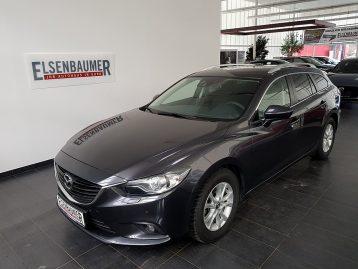 Mazda Mazda 6 Sport Combi CD150 Attraction bei Autohaus Elsenbaumer in