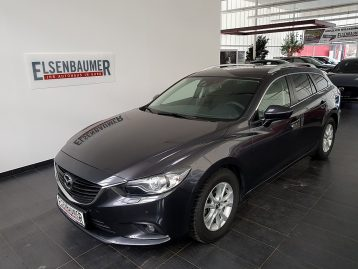 Mazda Mazda 6 Sport Combi CD150 Attraction bei Autohaus Elsenbaumer in
