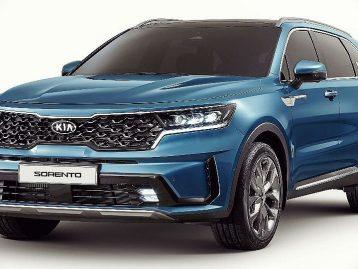 KIA Sorento Platin 2.2 CRDI 4WD 7 Sitzer Modell 2021 bei Autohaus Elsenbaumer in