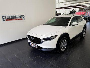 Mazda CX-30 G122 AWD Comfort+/SO/ST/PR/TE Aut. bei Autohaus Elsenbaumer in